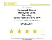 BREEAM Certificate of Excellence